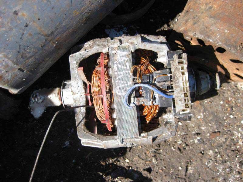 Thu mua đồng motor phế liệu